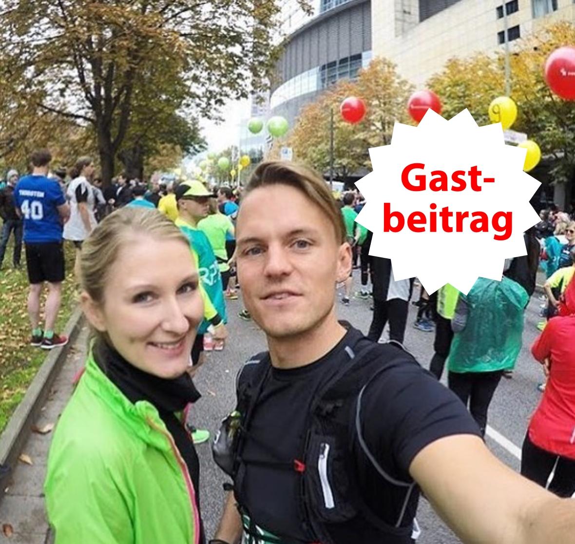 Einmal einen Marathon laufen